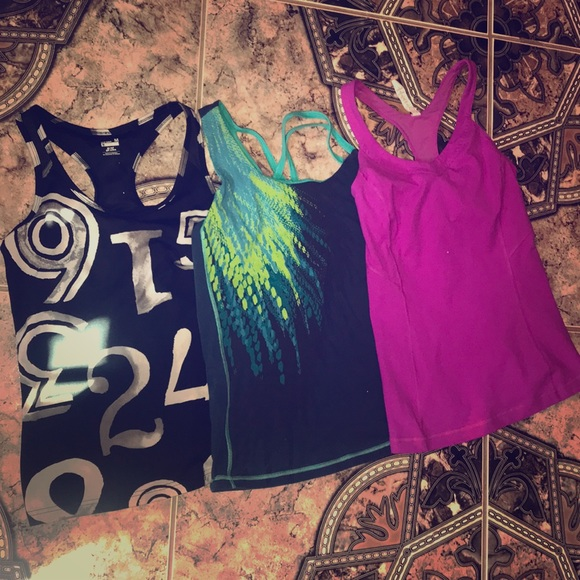 Under Armour Tops - Workout tops lot! 🏋🏻♂️🧘🏻♀️